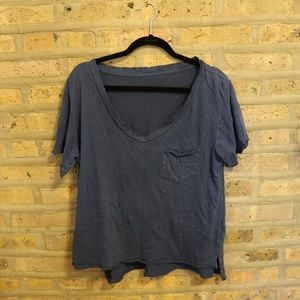 Slouchy Navy Urban Outfitters Tee